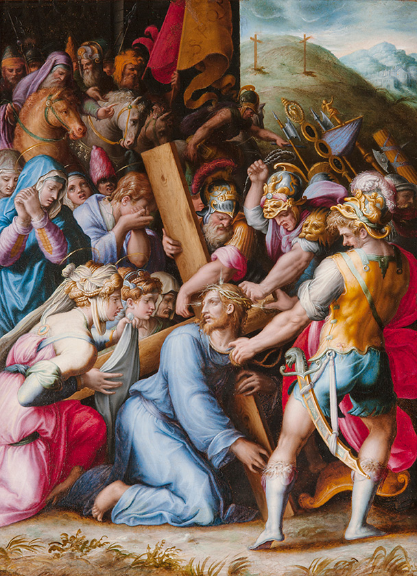 Christ Carrying the Cross by Giorgio Vasari