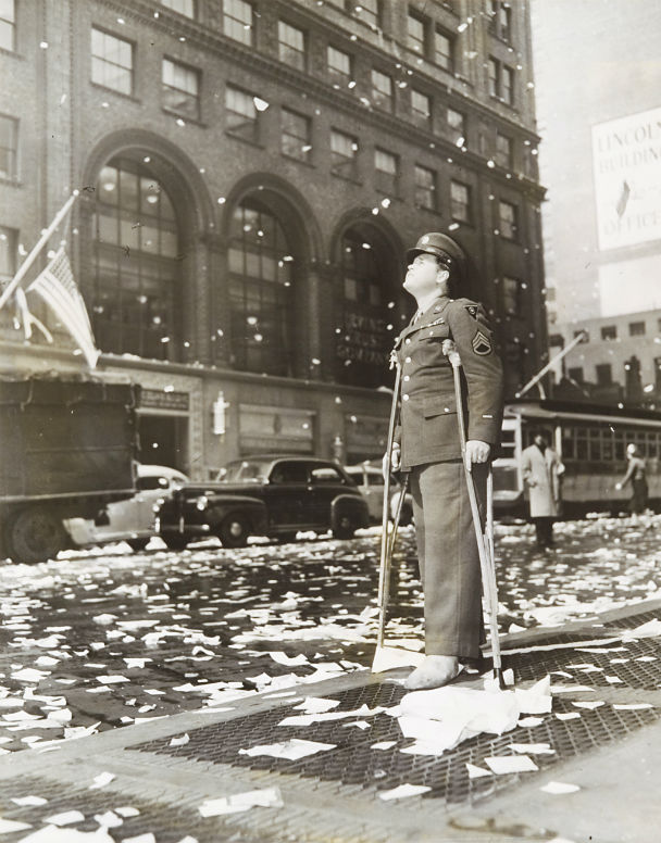 V-E Day in New York by Thomas J. Fitzsimmons