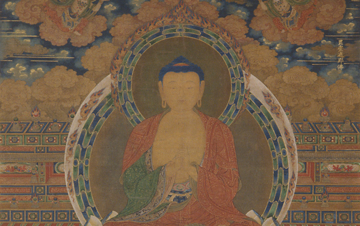 Detail: Vairocana by China