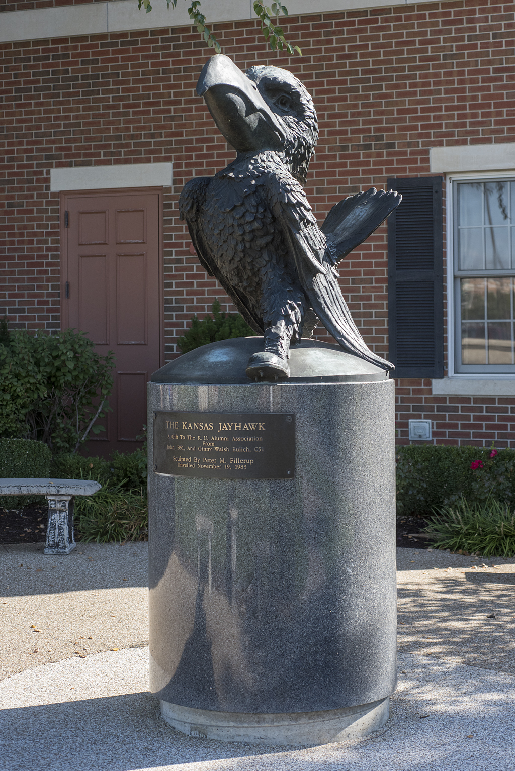 The Kansas Jayhawk by Peter M. Fillerup