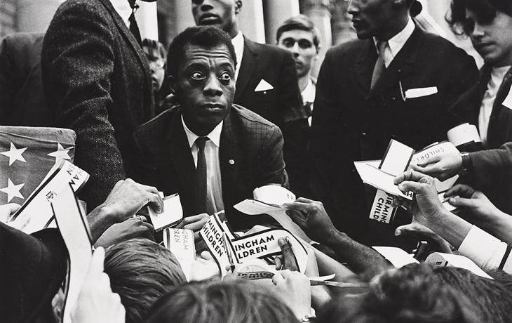 James Baldwin by Robert Adelman