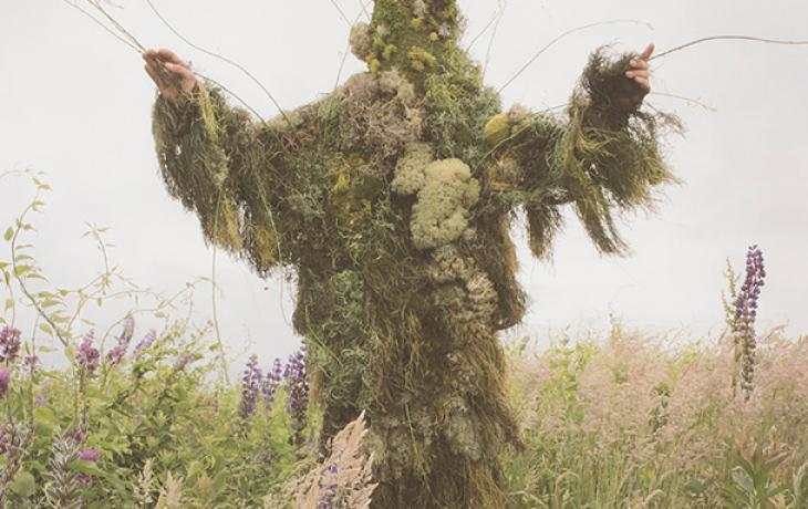 detail: King of Weeds by Nicholas Kahn and Richard Selesnick
