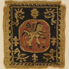 <a href='http://collection.spencerart.ku.edu/eMuseumPlus?service=ExternalInterface&module=collection&objectId=3216&viewType=detailView' target='_blank'><i>Coptic textile fragment</i> by Egypt</a>