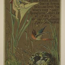 <a href='http://collection.spencerart.ku.edu/eMuseumPlus?service=ExternalInterface&module=collection&objectId=6090&viewType=detailView' target='_blank'><i>Brainerd & Armstrong spool silk trade card</i> by United States</a>