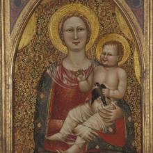 "<a href=""https://spencerartapps.ku.edu/collection-search#/object/10150"" target=""_blank""><i>Madonna and Child</i> by  Cenni di Francesco di Ser Cenni</a>"