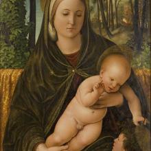 <a href='http://collection.spencerart.ku.edu/eMuseumPlus?service=ExternalInterface&module=collection&objectId=10154&viewType=detailView' target='_blank'><i>Madonna and Child with Saint John</i> by Filippo da Verona</a>
