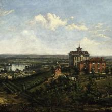 "<a href=""https://spencerartapps.ku.edu/collection-search#/object/10527"" target=""_blank""><i>View of Old North College</i> by James Hess</a>"