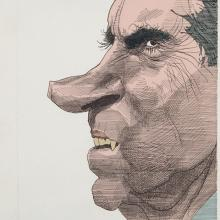 <a href='http://collection.spencerart.ku.edu/eMuseumPlus?service=ExternalInterface&module=collection&objectId=13981&viewType=detailView' target='_blank'><i>Nixon</i> by David Levine</a>