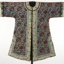 <a href='http://collection.spencerart.ku.edu/eMuseumPlus?service=ExternalInterface&module=collection&objectId=14548&viewType=detailView' target='_blank'><i>woman's coat</i> by China</a>