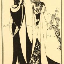 <a href='http://collection.spencerart.ku.edu/eMuseumPlus?service=ExternalInterface&module=collection&objectId=24142&viewType=detailView' target='_blank'><i>John and Salome</i> by Aubrey Vincent Beardsley</a>