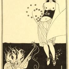 <a href='http://collection.spencerart.ku.edu/eMuseumPlus?service=ExternalInterface&module=collection&objectId=24145&viewType=detailView' target='_blank'><i>The Stomach Dance</i> by Aubrey Vincent Beardsley</a>