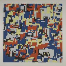 <a href='http://collection.spencerart.ku.edu/eMuseumPlus?service=ExternalInterface&module=collection&objectId=25303&viewType=detailView' target='_blank'><i>Simulated Color Mosaic</i> by Hiroshi Kawano</a>