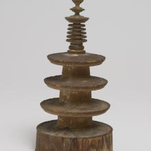 <a href='http://collection.spencerart.ku.edu/eMuseumPlus?service=ExternalInterface&module=collection&objectId=28958&viewType=detailView' target='_blank'><i>Hyakuman-tō (three-tiered pagoda)</i> by Japan</a>