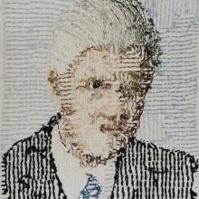 <a href='http://collection.spencerart.ku.edu/eMuseumPlus?service=ExternalInterface&module=collection&objectId=30734&viewType=detailView' target='_blank'><i>Bill Clinton, 42nd President of the United States</i> by Larry Schwarm</a>