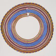 <a href='http://collection.spencerart.ku.edu/eMuseumPlus?service=ExternalInterface&module=collection&objectId=35894&viewType=detailView' target='_blank'><i>betrothal necklace</i> by Maasai peoples</a>