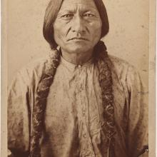 <a href='http://collection.spencerart.ku.edu/eMuseumPlus?service=ExternalInterface&module=collection&objectId=32593&viewType=detailView' target='_blank'><i>portrait of Sitting Bull</i> by David Francis Barry</a>