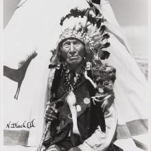 <a href='http://collection.spencerart.ku.edu/eMuseumPlus?service=ExternalInterface&module=collection&objectId=40628&viewType=detailView' target='_blank'><i>photograph of Black Elk</i> by Bill Groethe</a>