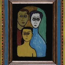 "<a href=""https://spencerartapps.ku.edu/collection-search#/object/45575"" target=""_blank""><i>The Family</i> by Gabriele Münter</a>"