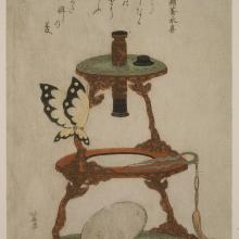 <a href='http://collection.spencerart.ku.edu/eMuseumPlus?service=ExternalInterface&module=collection&objectId=1455&viewType=detailView' target='_blank'><i>Microscope</i> by Katsushika Hokusai</a>