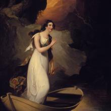 "<a href=""https://spencerartapps.ku.edu/collection-search#/object/9406"" target=""_blank""><i>Miss C. Parsons as ""The Lady of the Lake""</i> by Thomas Sully</a>"