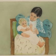 <a href='http://collection.spencerart.ku.edu/eMuseumPlus?service=ExternalInterface&module=collection&objectId=11060&viewType=detailView' target='_blank'><i>The Barefooted Child</i> by Mary Cassatt</a>