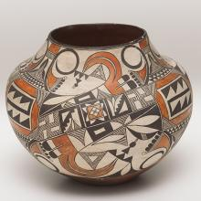 <a href='http://collection.spencerart.ku.edu/eMuseumPlus?service=ExternalInterface&module=collection&objectId=36758&viewType=detailView' target='_blank'><i>jar</i> by Acoma peoples</a>