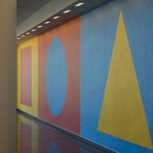 <i>Wall Drawing 519</i> by Sol LeWitt