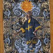 <a href='http://collection.spencerart.ku.edu/eMuseumPlus?service=ExternalInterface&module=collection&objectId=43400&viewType=detailView' target='_blank'><i>towel (Portrait of Andries Stilte)</i> by Kehinde Wiley</a>