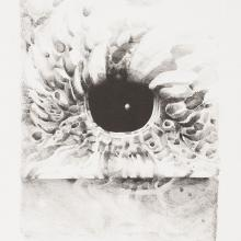 <a href='http://collection.spencerart.ku.edu/eMuseumPlus?service=ExternalInterface&module=collection&objectId=46480&viewType=detailView' target='_blank'><i>Eighth Stone</i> by Lee Bontecou</a>