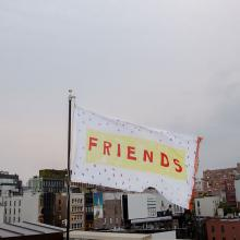 <i>Friends (for Ree)</i> by Alex Da Corte, photo by Guillaume Ziccarelli, courtesy of Creative Time