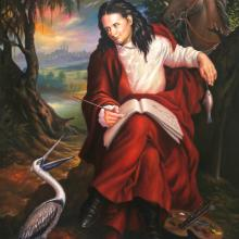 <i>John James Audubon</i> by Ulrick Jean-Pierre