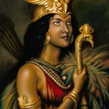 <i>Queen Anacaona</i> by Ulrick Jean-Pierre