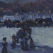 After the Concert, Jonas Lie