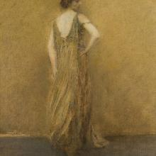 Lady in Green, Thomas Wilmer Dewing