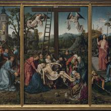 Descent from the Cross with Scenes from the Passion, Master of Frankfurt Workshop