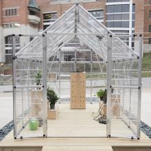 A snapshot of Kessler's greenhouse installation <i>After Nature (coding and re-coding nature)</i>