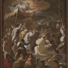 David Taking the Ark of the Covenant to Jerusalem, Luca Giordano