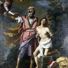 The Sacrifice of Issac, Jacopo da Empol
