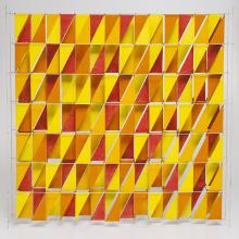 Yellow and Red, Harry Bertoia