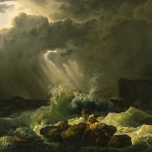 A Shipwreck, Philip James de Loutherbourg