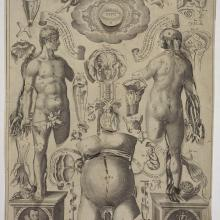 <a href='https://spencerartapps.ku.edu/collection-search#/Object/28071' target='_blank'><i>Anatomical Plate with male and Female Figures</i> by Lucas Kilian</a