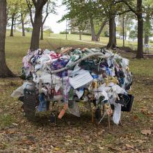 <a href='https://spencerartapps.ku.edu/collection-search#/object/61521' target='_blank'><i>Anthropocene Nest</i> by Margot Lockwood</a>